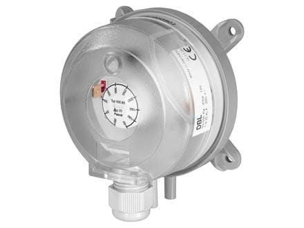 Air differential pressure switches